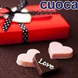 cuocaバレンタイン手作りキット「ストロベリー&チョコのさくさくハートクランチ」