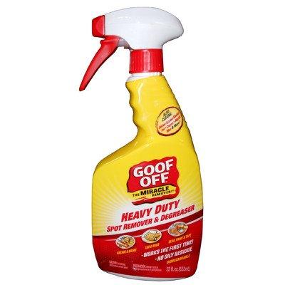 Goof Off FG659 Heavy Duty Spot Remover, Trigger Spray 22-Ounce