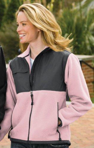 womens-panda-fleece-jacket-with-nylon-paneling-up-to-size-4x