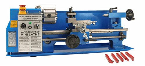 Buy Cheap 550W 7 x 14 Precision Bench Top Mini Metal Milling Lathe with Digital Readout & Variab...