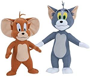 "Amazon.com: Tom and Jerry Deluxe 14"" Plush Set: Toys & Games"