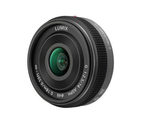 Panasonic H-H014E Lumix G Pancake Lens (14 mm,
