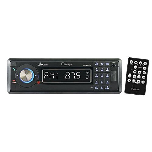 Lanzar AQCD60BTB Autoradio AM/FM MPX avec lecteur CD/SD/MMC/USB et Bluetooth Façade détachable