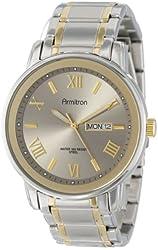 Armitron Men's 20/4935GNTT Multi-Function Bracelet Watch