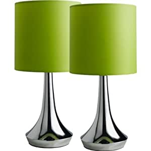 Colour Match Touch Table Lamp Apple Green With Soft Glow