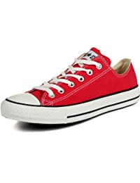 Converse All Star Chuck Taylors Ox Red (8.5 Mens/ 10.5 Ladies)