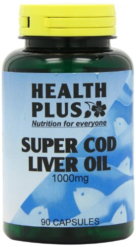 Health Plus Super Cod Liver Oil 1000mg Omega-3 & Joint Supplement - 90 Capsules