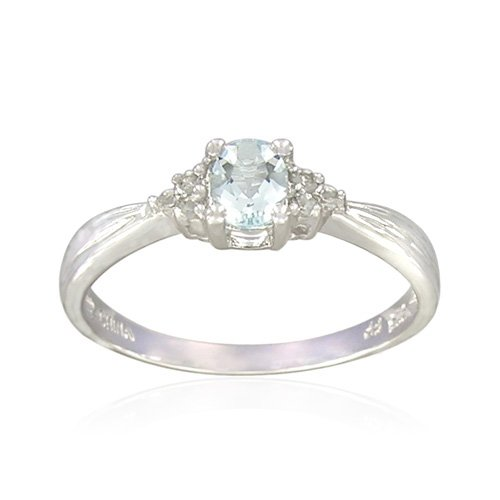 Aquamarine Wedding Bands 37 Ideal Sterling Silver Oval Shaped