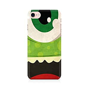 PRINTASTIC Green Monster Premium Printed Mobile Back Case Cover For Apple iPhone 7