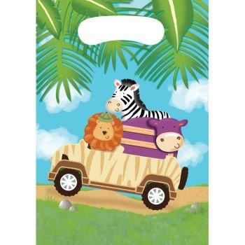 Safari Adventure Party Treat Bags (8 ct)