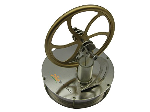 Sunnytech Low Temperature Stirling Engine Motor Steam Heat Education Model Toy Kit (LT001) (Stirling Engine compare prices)