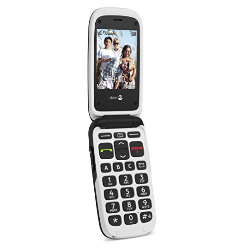 T�l�phone GSM DORO PHONEEASY 612 BLANC