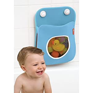 Click to buy Bath Toy Storage: Bathtub Wall Organizer from Amazon!