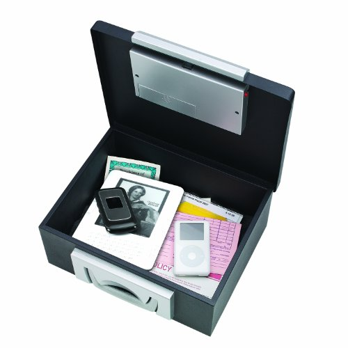 Block and Company E22104 Elektronische Dokumentenkassette mit Digital und Zylinderschloss