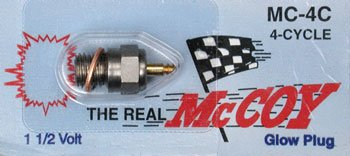 McCoy MC-4C 4-Stroke Glow Plug - 1