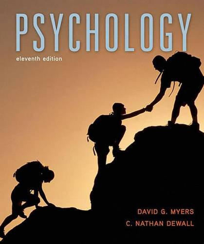 Psychology, 11th Edition (Psychology Myers Modules compare prices)