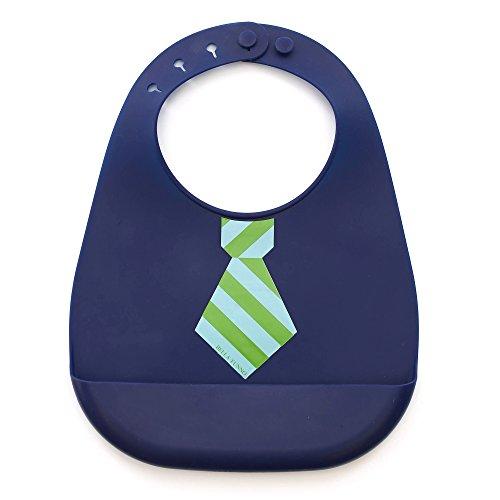 Bella Tunno Mini Mister Tie Stripe Silicone Wonder Bib