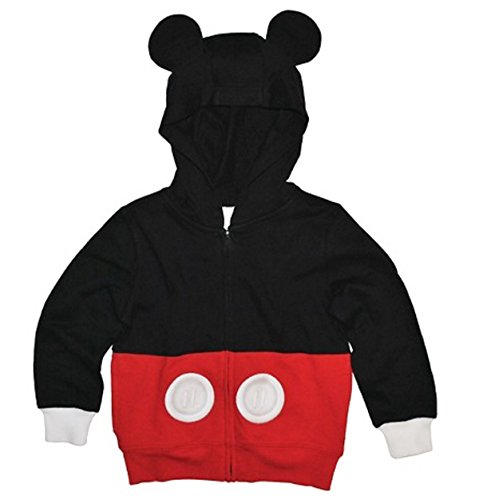 Disney Mickey Mouse Little Boys Costume Hoodie (2T) (Mickey Mouse Ears Costume)