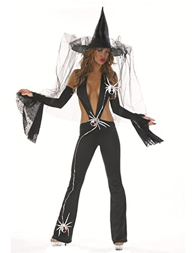 Adventurous Witch Catsuit Costume With Sleeves
