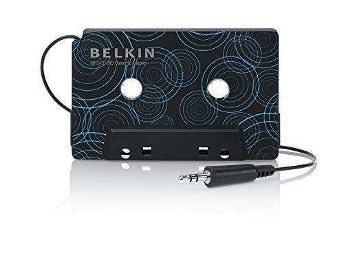 Belkin F8V366EAAPL, Adattatore per cassette portatile da auto, connettore da 3,5 mM bianco