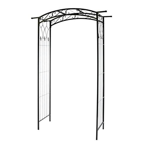 nexos rosenbogen torbogen rankhilfe pergola spalier f r rosen blumen im garten terrasse design. Black Bedroom Furniture Sets. Home Design Ideas