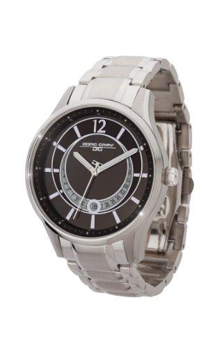 Jorg Gray JG1400-11 - Reloj analógico de cuarzo para mujer, correa de acero inoxidable color plateado