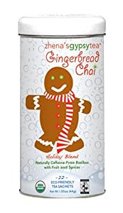 Organic Gingerbread Chai Tea 22 Bags