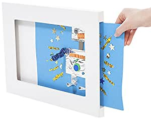 Articulate Gallery A4 MDF Single Picture Frame, White