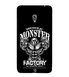 EPICCASE Muscle monster factory Mobile Back Case Cover For Asus Zenfone 6 (Designer Case)