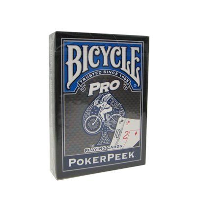 1 Deck Pro Poker Peek Playing Cards - By Bicycle - 1
