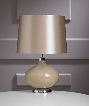new juno champagne bedside lounge home office table lamp. Black Bedroom Furniture Sets. Home Design Ideas