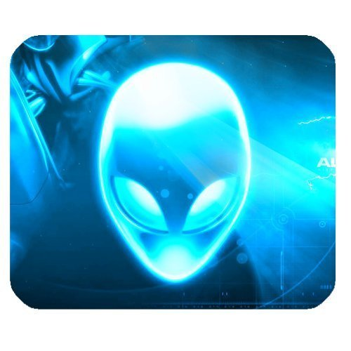 awesomely-evergreen-fashion-cool-mask-alien-blue-glowing-rectangle-mousepad-customized-mouse-mat-pad