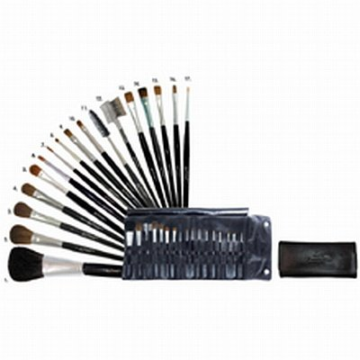 Fantasea 17 Piece Japanese Cosmetic Brush Set
