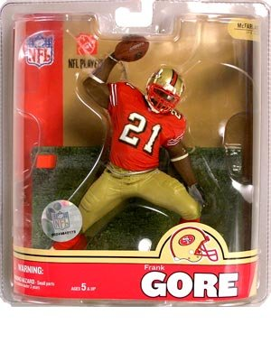 McFarlane NFL Series 16: Frank Gore - San Francisco 49ers at Amazon.com