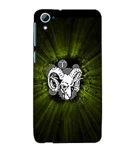 EPICCASE Grumpy Goat Mobile Back Case Cover For HTC Desire 826 (Designer Case)