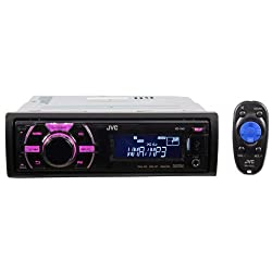 See JVC KD-X40 Single din In-Dash Car Stereo Digital Media Receiver with Front USB, iPod Control and Variable Color Control Details