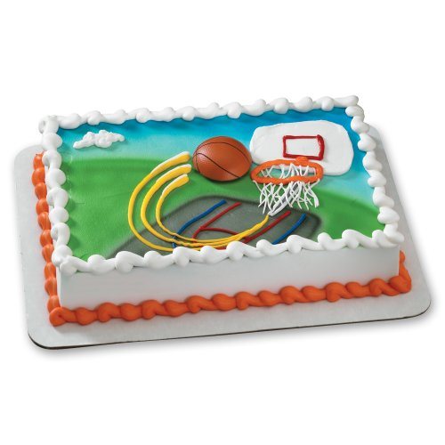 Decopac Extreme Basketball Magnet DecoSet Cake Topper