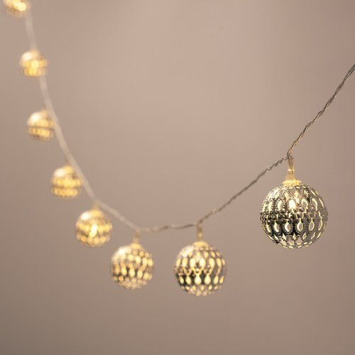 Battery-Operated-Silver-Moroccan-Orb-LED-Fairy-Lights-with-10-Warm-White-LEDs