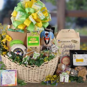 Show Stopper Dog CONGRATULATIONS Gift Basket
