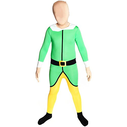 Christmas Elf Morphsuit Kids Costume