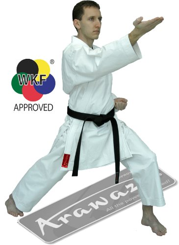 Arawaza Coral WKF Karate Middleweight Uniform (170cm)