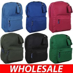 "120 Assorted colors AIR EXPRESS 17"" ASSORTED COLOR BACKPACK camp back to school1704"