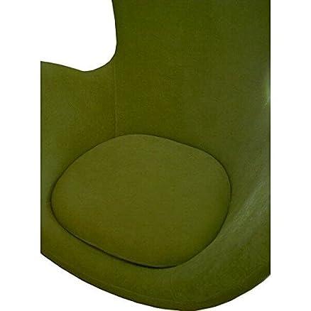 Poltrona manopola con piedino tondo Cocoon B verde anice
