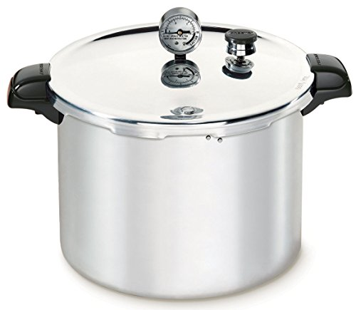 WallEc(TM) 01781 23 Quart Aluminum Pressure Canner & Cooker