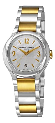 Baume & Mercier Women's 8773 Ilea Swiss Two-Tone Watch from Baume & Mercier