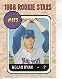 2006 Topps Rookie of The Week 5 Nolan Ryan 1968 Topps Replica (Baseball Cards)