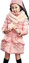 Dreamall Girl39s Thickened Puffer Bubble Winter Jacket Warm Coats