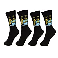 Manchester City 2 PAIR Pack of Mens Dress Socks