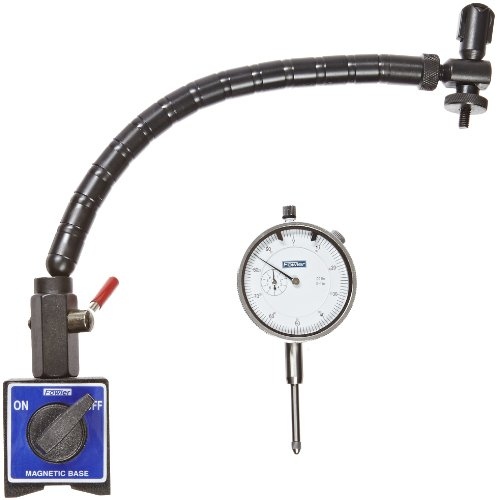 Fowler 72-641-300 Flex Arm Base and Indicator Combo (Dial Indicator Base compare prices)