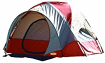 Texsport Pebble Creek 2 Person Vestibule Tent (Red/Tan, 8-Feet X 7-Feet X 54-Inch)